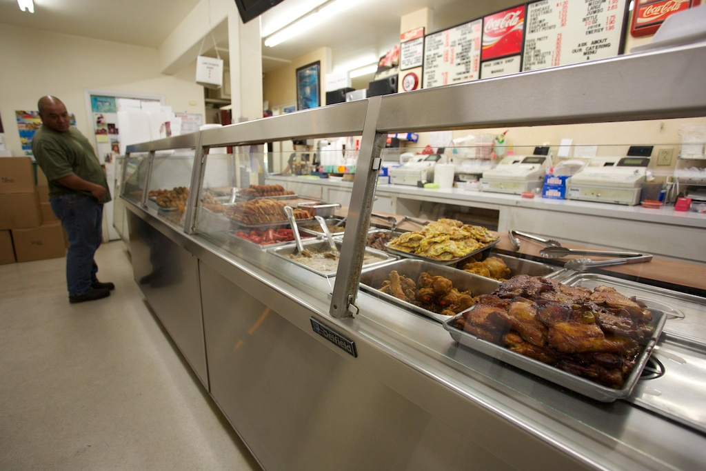 The numerous mouthwatering selections available at Hilo Lunch Shop make it difficult to choose.