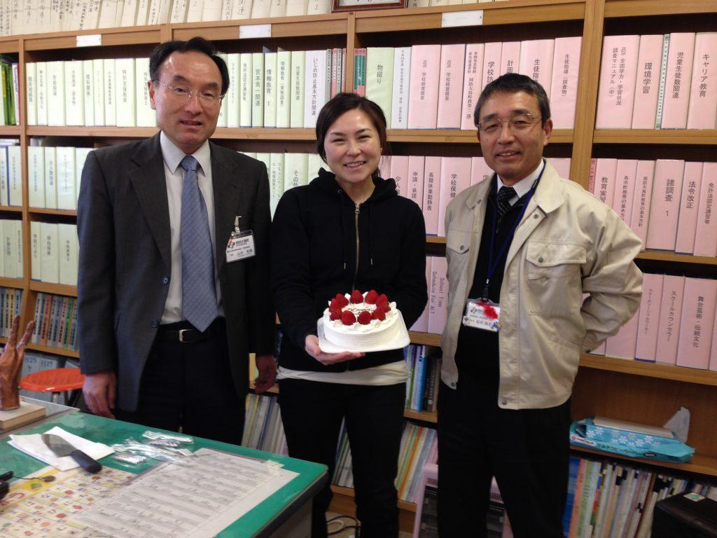 Aloha Oshima=Birthday cake