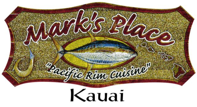 Kauai=Marks Place Logo