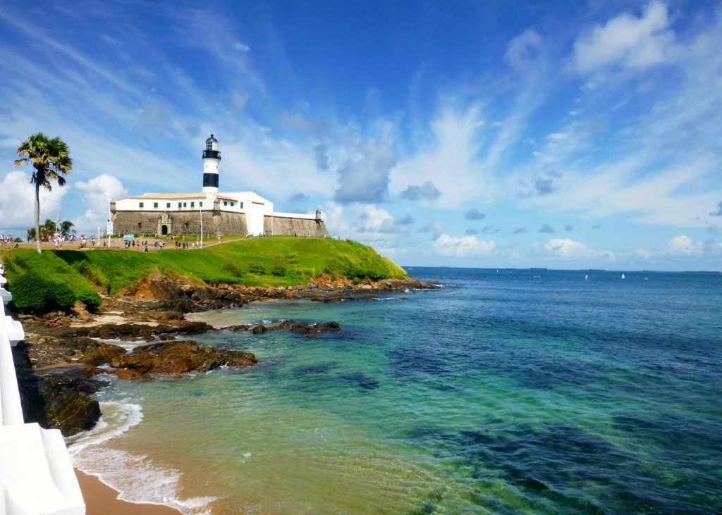 An afternoon shot of Salvador's famous farol (lighthouse), just one of its many picturesque locations.