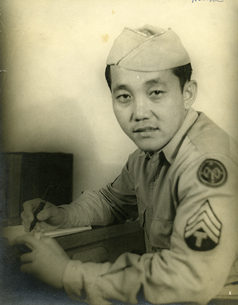 Hoichi Kubo was the only MIS Nisei to receive the Distinguished Service Cross for an act of great compassion and heroism on Saipan.