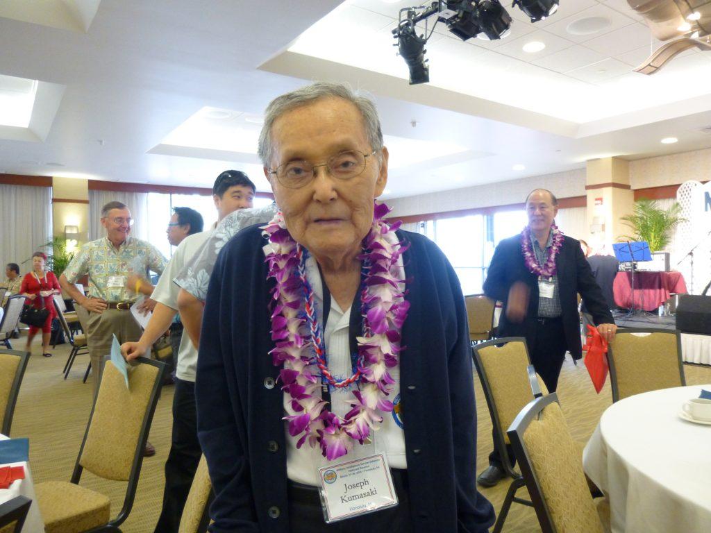 MIS veteran Joseph Kumasaki.