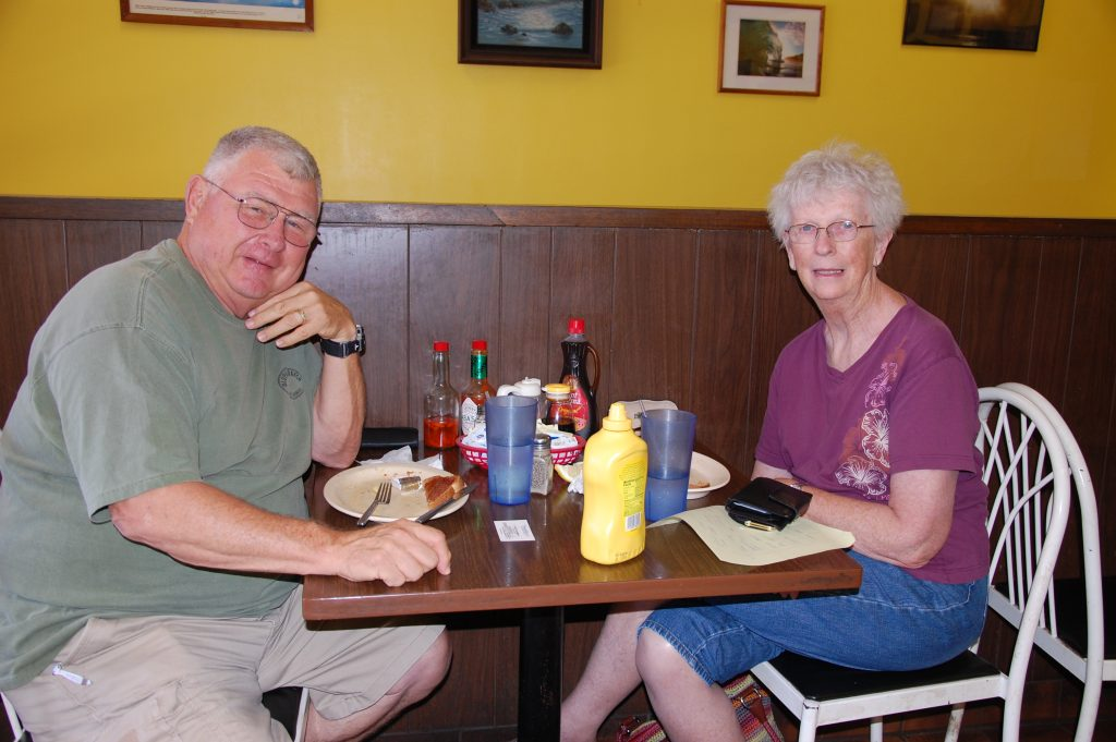 Mike and Mary Tullus ate at the restaurant for four of their five-day stay on Kaua'i.