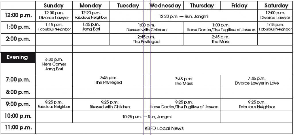 TV Program Guide – The Hawaii Herald