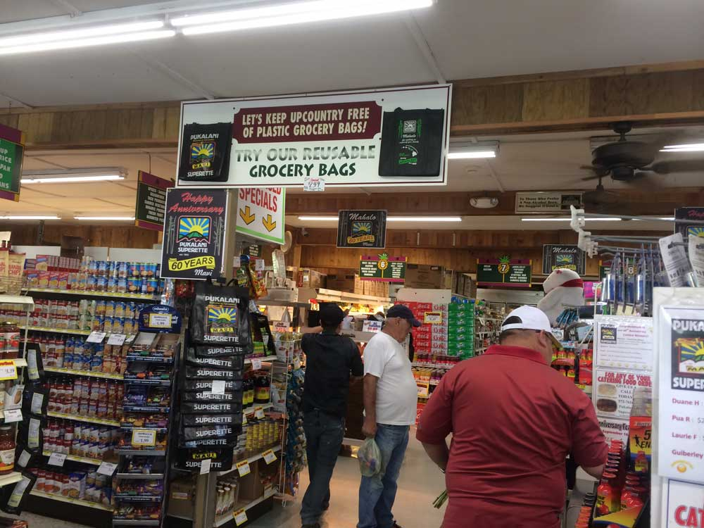 There aren't many items - food or otherwise - that Pukalani Superette shoppers cannot find at the popular upcountry store.