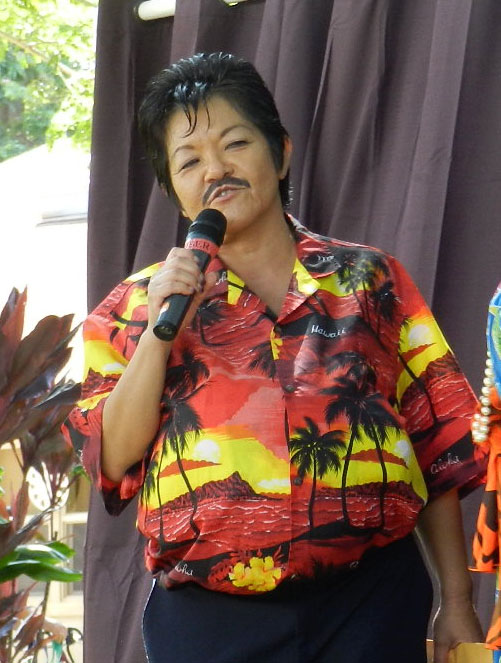"Kathy ""Tita"" Collins as ""Manuel Tunta."" (Photo courtesy Kathy Collins)"