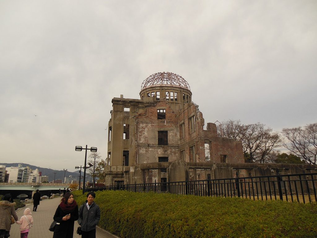 The Hiroshima Peace Dome stands as a reminder of the horror that was unleashed on Aug. 6, 1945.