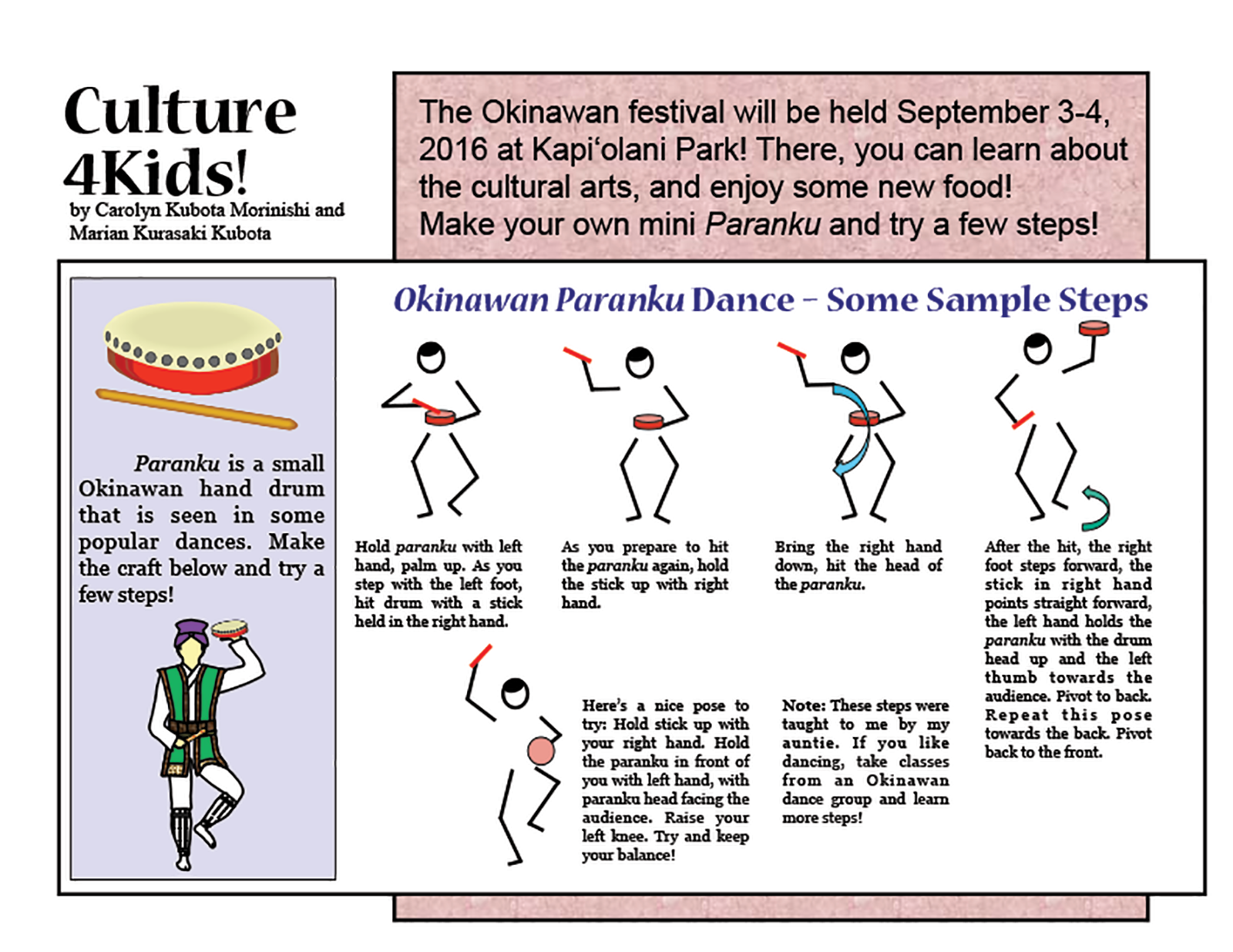 Culture4Kids=Okinawan paranku-1
