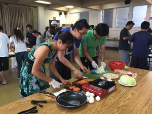 Okinawan cooking classes are another opportunity for Shinka members to learn about Okinawan culture. (Photos courtesy Shinka Hawaii)