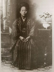 Old photo of Picture bride Ushi Tamashiro was only 39 years old when her husband Jintaro died