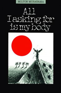 "Photo of Book Cover ""All I asking for is my body"" by Milton Murayama"