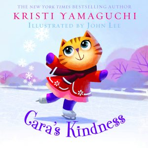 Graphic of Kristi Yamaguchi's children book 'Cara's Kindness'