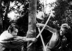 "Photo of ""Rashomon"" screens on Nov. 6. (Photos courtesy HIFF)"