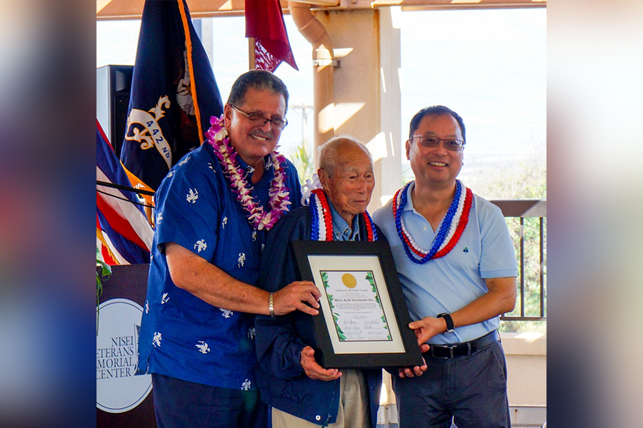 Maui AJA Veterans – Above and Beyond the Call of Duty, Maui AJA ...