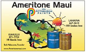 Ad for Ameritone Maui