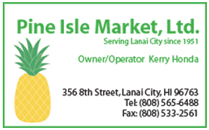 Ad for Pine Isle Market