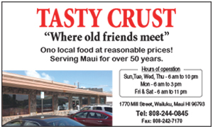 Ad for Tasty Crust