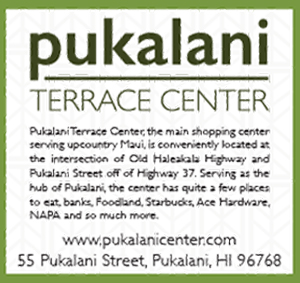 Ad for Pukalani Terrace Center