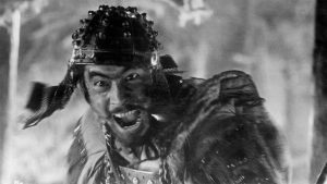 "Photo of Toshiro Mifune in ""Seven Samurai"""