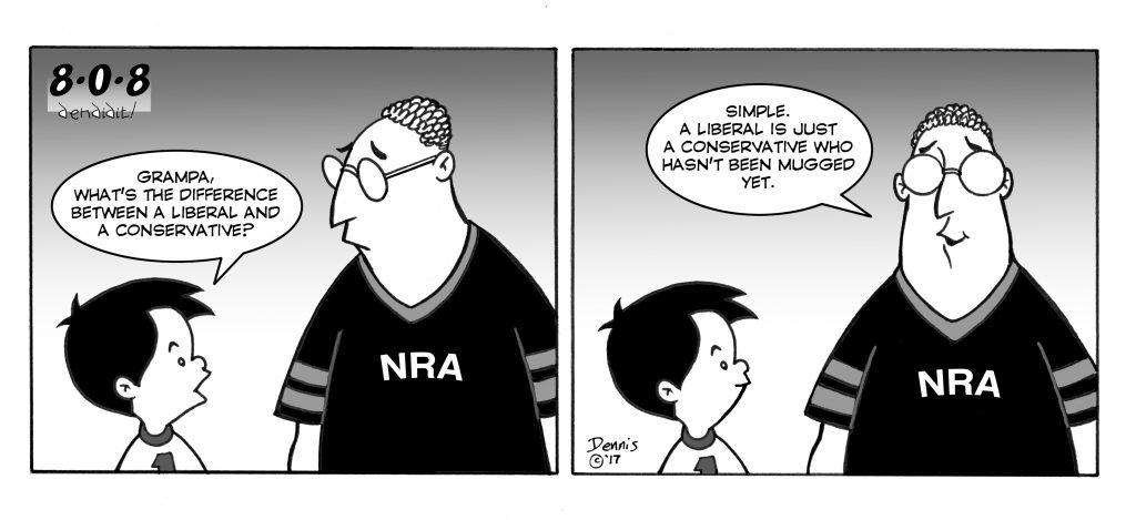 Comic, 808, by Dennis Fujitake, Feb. 3, 2017 Issue