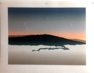 Photo of Artwork, Sunrise Above Cloudline