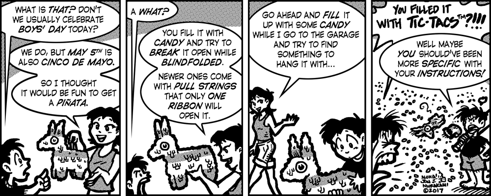 Comic, Generation Gap, by Jon J. Murakami, May 5, 2017 Issue