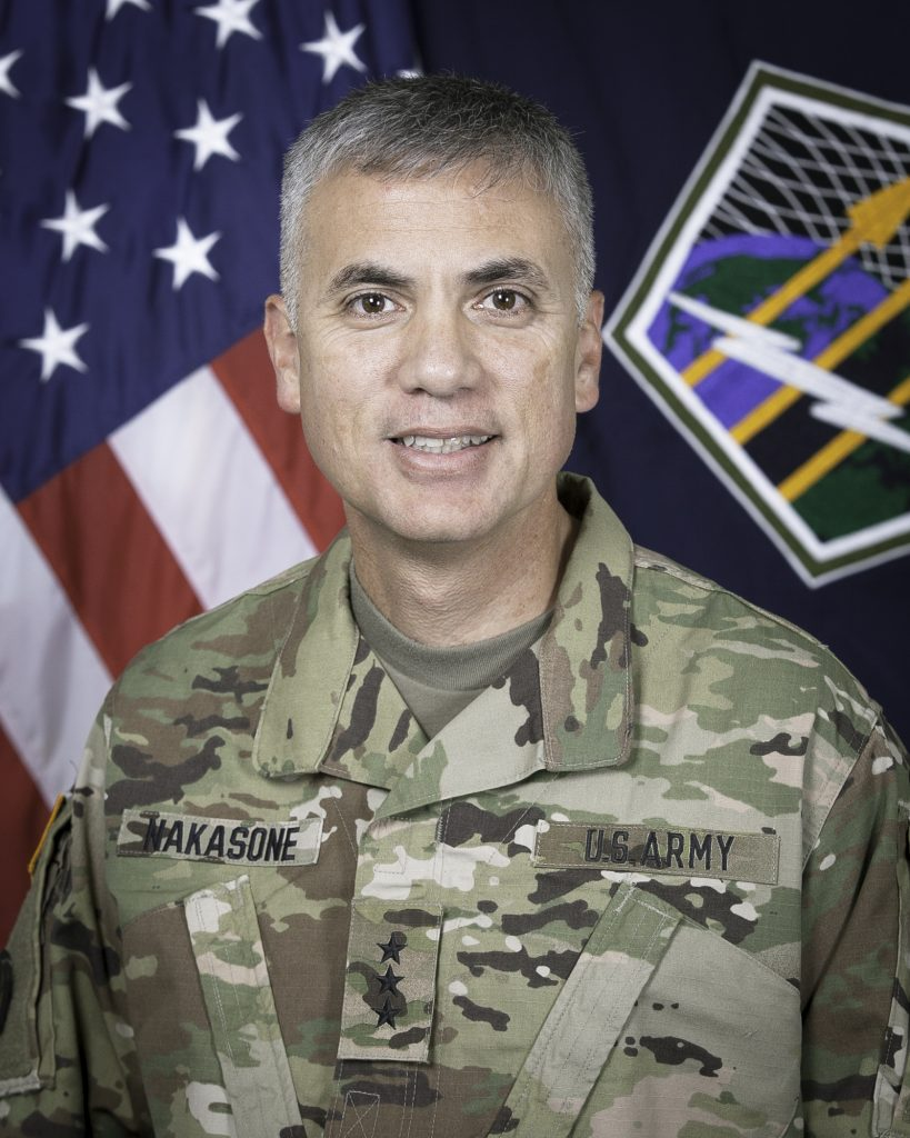 Headshot photo of Lt. Gen. Paul Nakasone