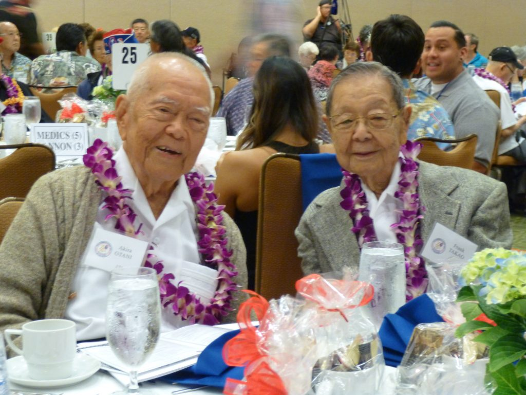 Photo of Akira Otani and retired Circuit Judge Frank Takao.
