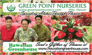 Ad for Green Point Nurseries