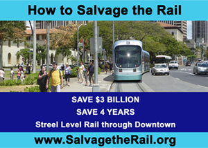 Ad for How to Salvage the Rail
