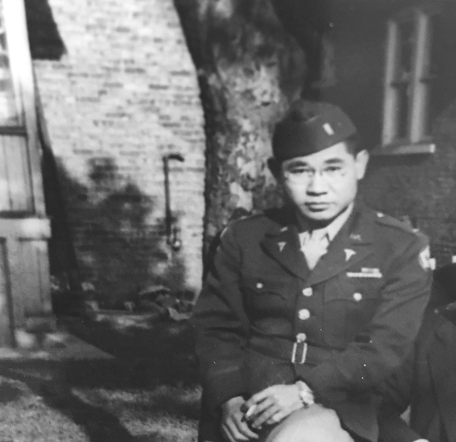 Dr. Ohata in Chicago in 1945 prior to returning to his home island of Maui, where he chose to live out his life. (Photo courtesy the Ohata family)