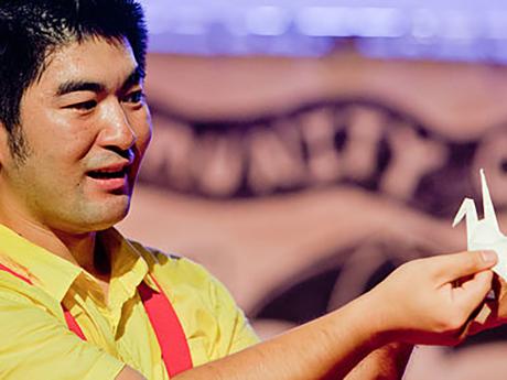 Photo of storyteller, Yasu Ishida