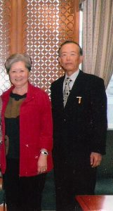 Photo of Yoshio Muro, who was instrumental in helping Lorraine locate her Japan relatives.