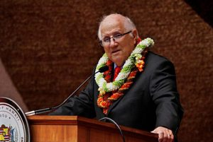 "Maui Democratic Rep. Joe Souki, who was Speaker of the House from 1993 to 1999 and again from 2013 to 2017, was not happy being unseated by Rep. Scott Saiki. However, he said that Saiki was ""very competent"" and ""very smart."" (Photo from joesouki.com)"