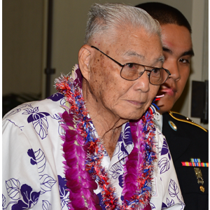 100th Battalion Veteran, Thomas Nikaido