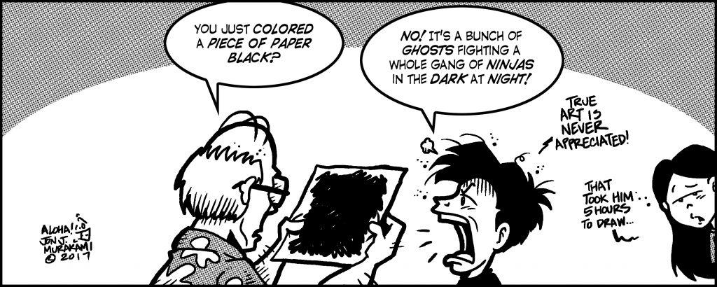 Comic Generation Gap, Oct. 20 2017 Issue