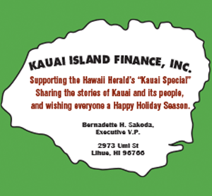 Ad for Kauai Island Finance