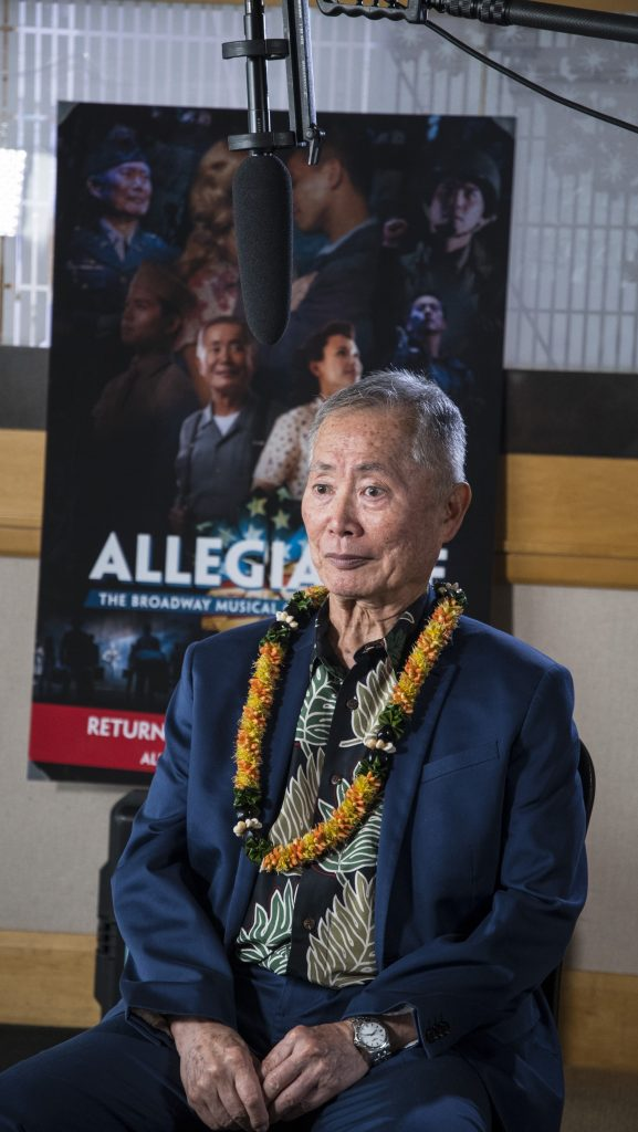 """Allegiance"" "". . . is an American story that has such grave contemporary importance today when we live in a time that is convulsed with division."" — Actor George Takei"